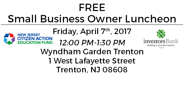 April 7th Small Business Forum and Luncheon