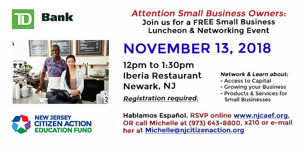 11/13 Newark Small Business Luncheon