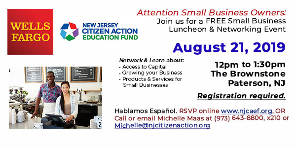 Free Small Business Forum in Paterson on August 21st!